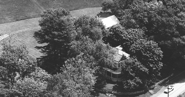 Vintage Aerial photo from 1980 in Adams County, PA