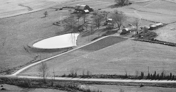 Vintage Aerial photo from 1982 in Breckinridge County, KY