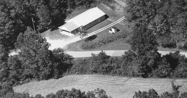 Vintage Aerial photo from 2000 in Morgan County, KY