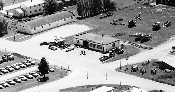 Vintage Aerial photo from 1972 in Benton County, IA