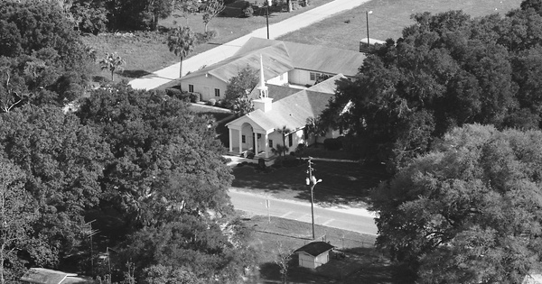 Vintage Aerial photo from 1983 in Sumter County, FL