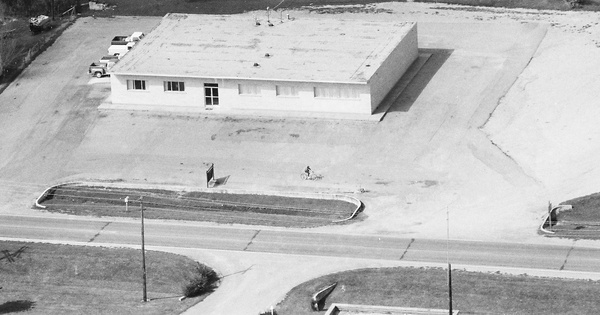 Vintage Aerial photo from 1984 in Stoddard County, MO