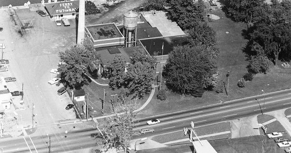 Vintage Aerial photo from 1971 in Ottawa County, OH