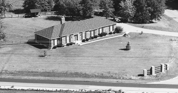 Vintage Aerial photo from 1984 in Oldham County, KY