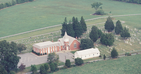 Vintage Aerial photo from 2002 in Frederick County, MD