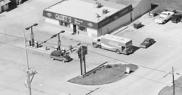 Vintage Aerial photo from 1990 in Union County, IA