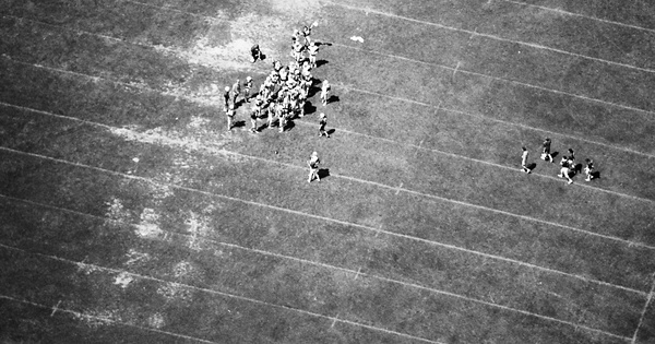 Vintage Aerial photo from 1984 in St. Joseph County, IN