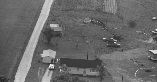 Vintage Aerial photo from 1981 in Montgomery County, KY