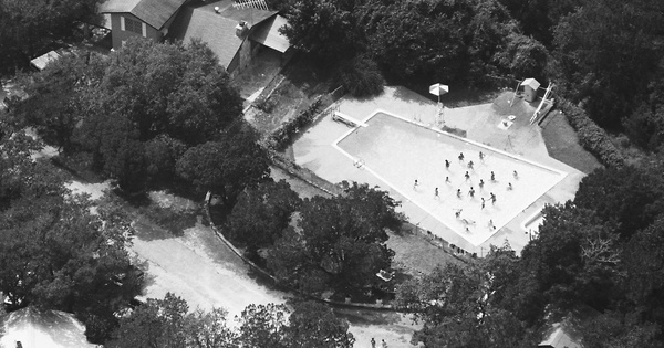 Vintage Aerial photo from 1986 in Comal County, TX