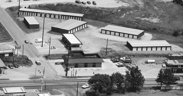 Vintage Aerial photo from 1987 in Polk County, AR