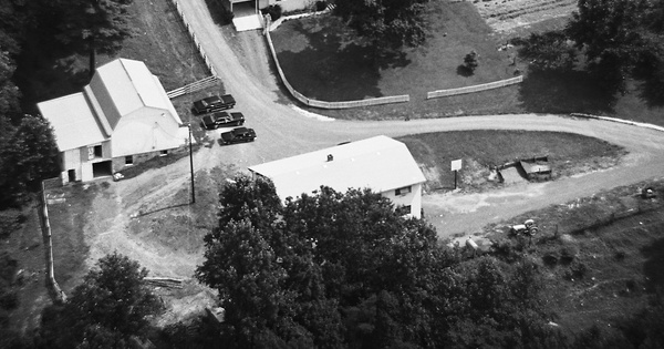 Vintage Aerial photo from 1982 in Greene County, VA