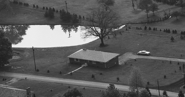 Vintage Aerial photo from 1966 in Beaver County, PA