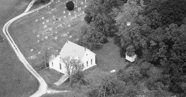 Vintage Aerial photo from 1985 in Harrison County, IN
