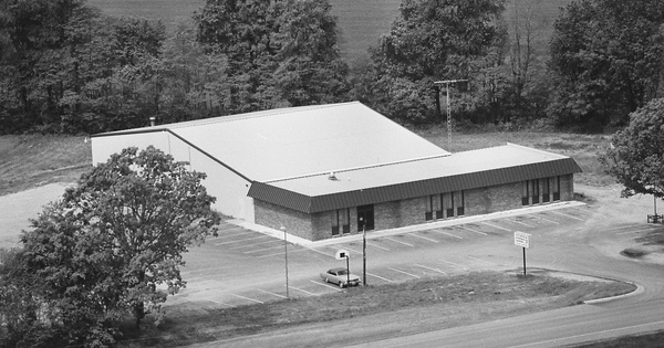 Vintage Aerial photo from 1978 in Hillsdale County, MI