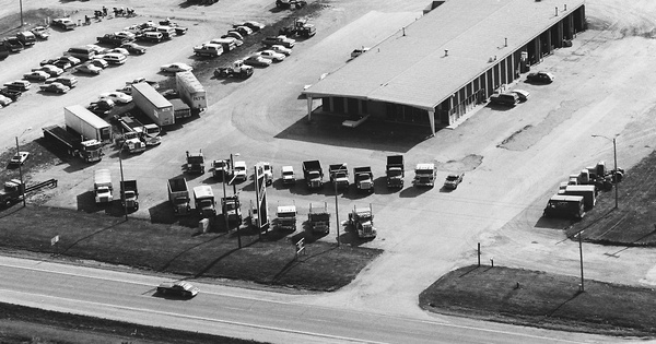 Vintage Aerial photo from 1983 in McLean County, IL