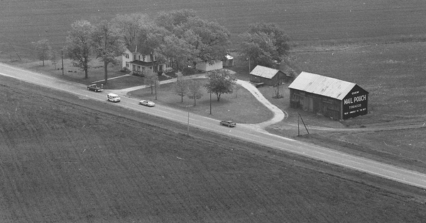 Vintage Aerial photo from 1979 in Ottawa County, OH