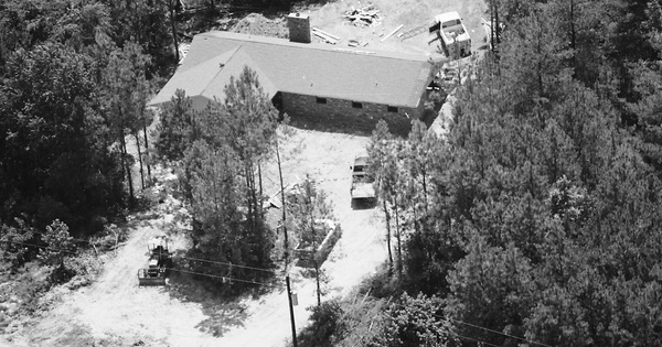 Vintage Aerial photo from 1984 in Lafayette County, MS