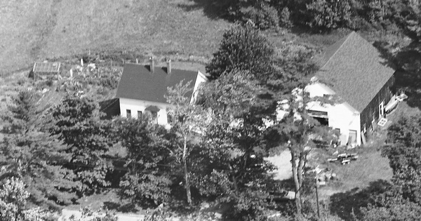 Vintage Aerial photo from 1995 in York County, ME