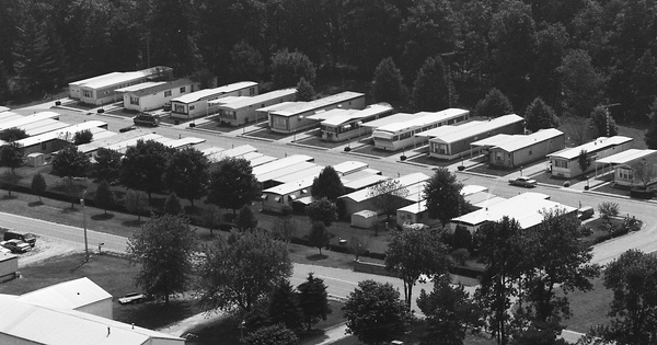 Vintage Aerial photo from 1995 in Muskingum County, OH