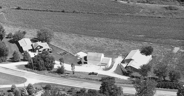 Vintage Aerial photo from 1996 in Fillmore County, MN