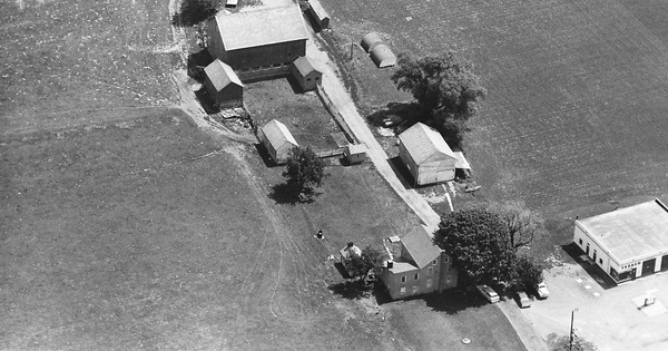 Vintage Aerial photo from 1965 in Northampton County, PA