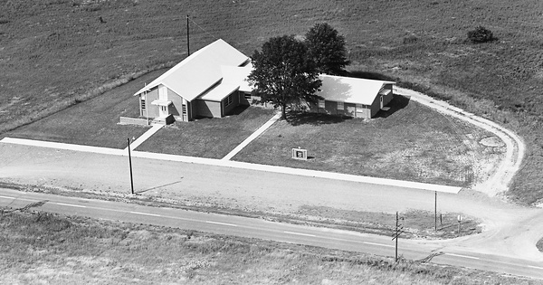 Vintage Aerial photo from 1963 in Union County, NC