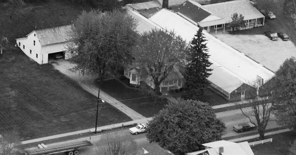 Vintage Aerial photo from 1982 in Tuscarawas County, OH