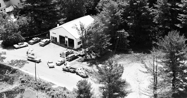 Vintage Aerial photo from 1963 in Carroll County, NH