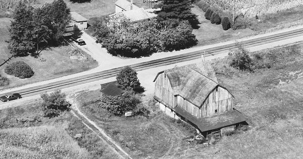 Vintage Aerial photo from 1983 in DeKalb County, IN