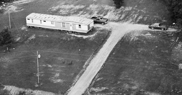 Vintage Aerial photo from 1982 in Edmonson County, KY