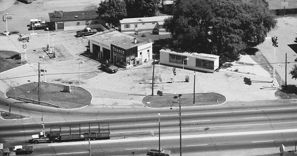Vintage Aerial photo from 1978 in Marshall County, IN