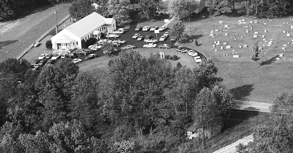 Vintage Aerial photo from 1982 in Taylor County, KY
