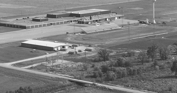 Vintage Aerial photo from 1980 in McLean County, IL
