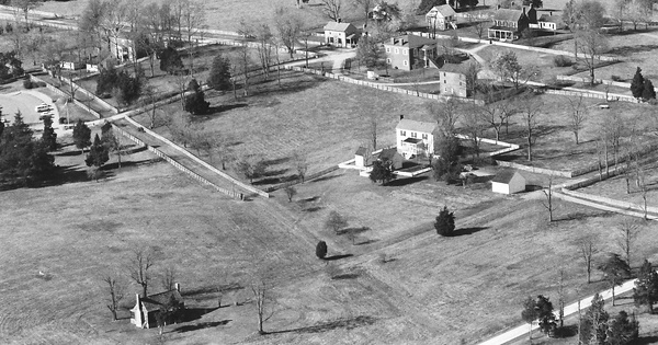 Vintage Aerial photo from 1984 in Appomattox County, VA