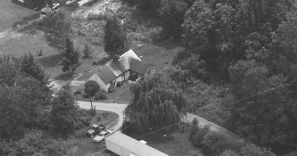 Vintage Aerial photo from 1997 in Grainger County, TN