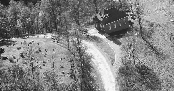 Vintage Aerial photo from 1989 in Doddridge County, WV