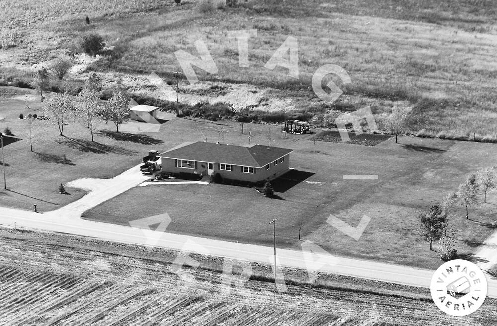Vintage Aerial | Wisconsin | Kenosha County | 1974 | 53-KKE-4