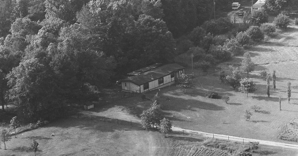Vintage Aerial photo from 1983 in Newton County, GA