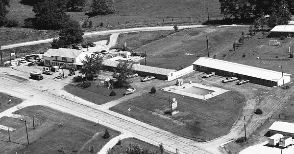 Vintage Aerial photo from 1974 in Lawrence County, IN