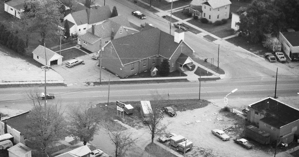 Vintage Aerial photo from 1982 in Oceana County, MI