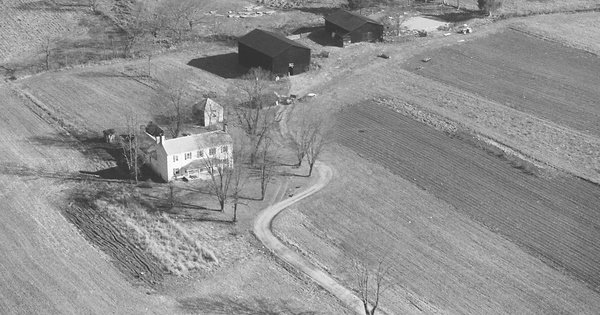 Vintage Aerial photo from 1980 in Madison County, KY
