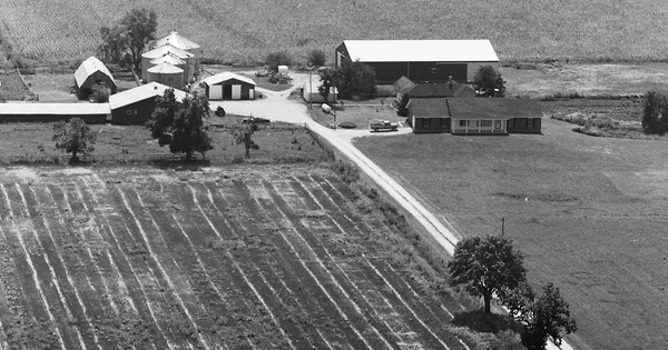 Vintage Aerial photo from 1979 in Boone County, MO