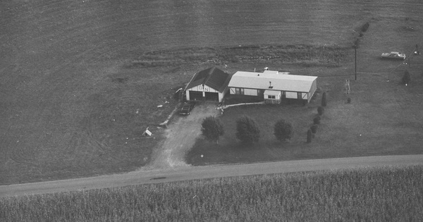 Vintage Aerial photo from 1981 in Cambria County, PA