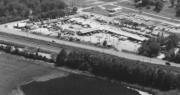 Vintage Aerial photo from 1983 in Hillsborough County, FL