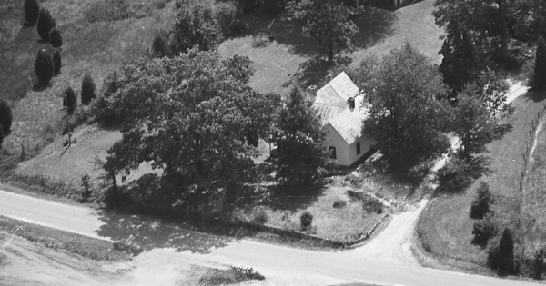 Vintage Aerial photo from 1986 in Polk County, NC