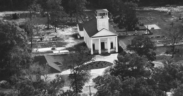 Vintage Aerial photo from 1987 in Jasper County, SC