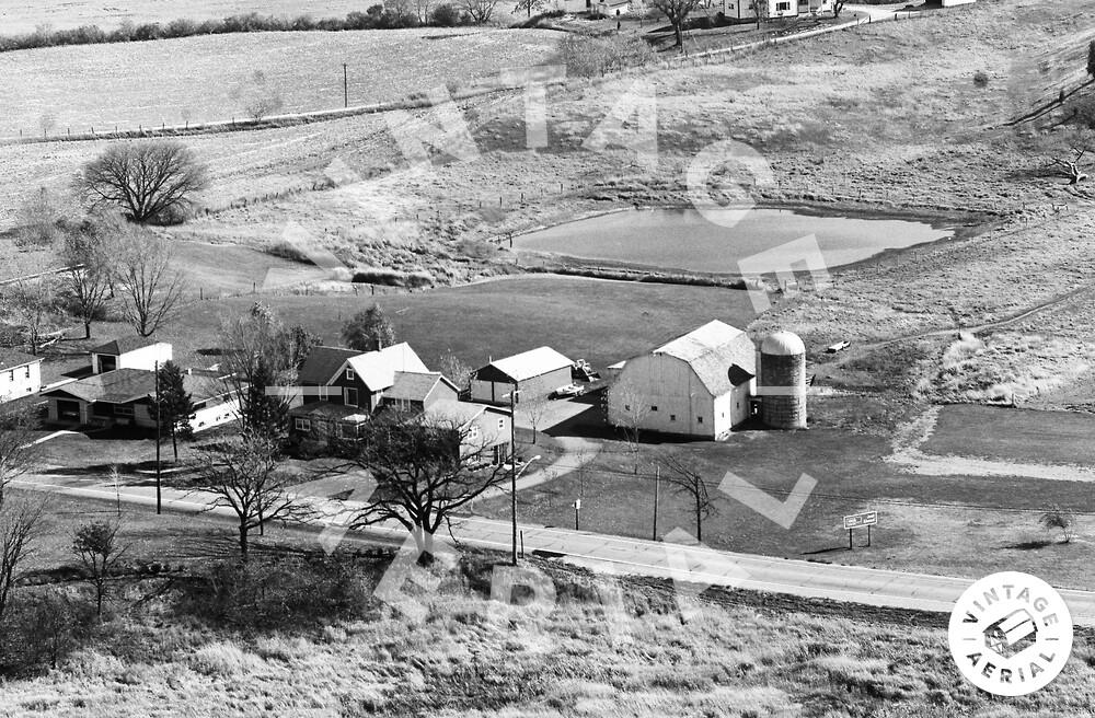 Vintage Aerial | Wisconsin | Kenosha County | 1974 | 52-KKE-12