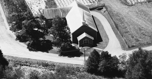 Vintage Aerial photo from 1987 in Claiborne County, TN