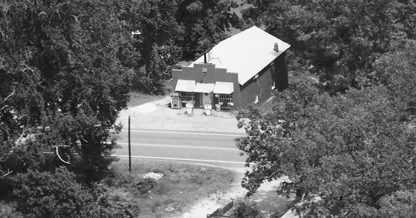 Vintage Aerial photo from 1988 in Meriwether County, GA