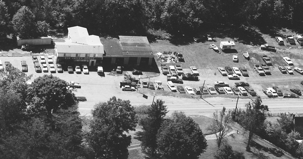 Vintage Aerial photo from 1985 in Braxton County, WV